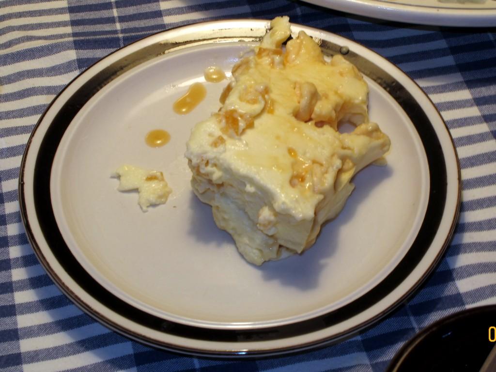 tort bezowo cytrusowy Wojtka