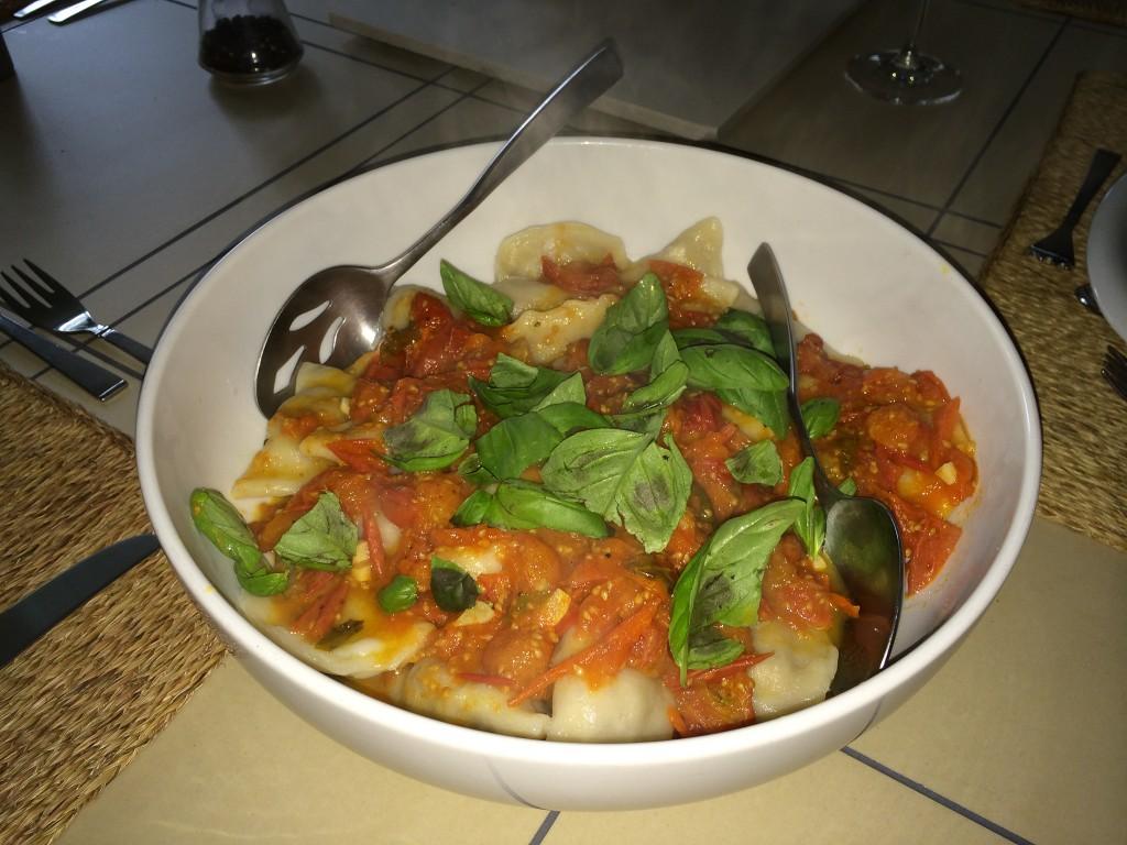 sundried tomato pierogi